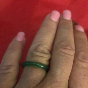 Vintage JADE SIMPLE RING STACK OR WEAR ALONE